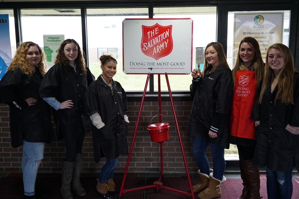 SkillsUSA Rings the Bell for Red Kettle Campaign