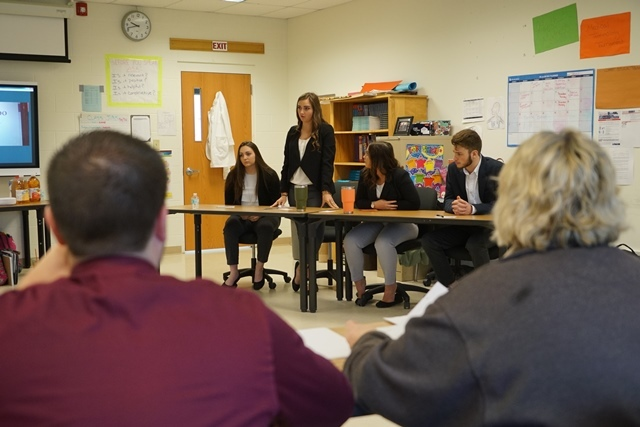 New Vision Students Debate Health Care