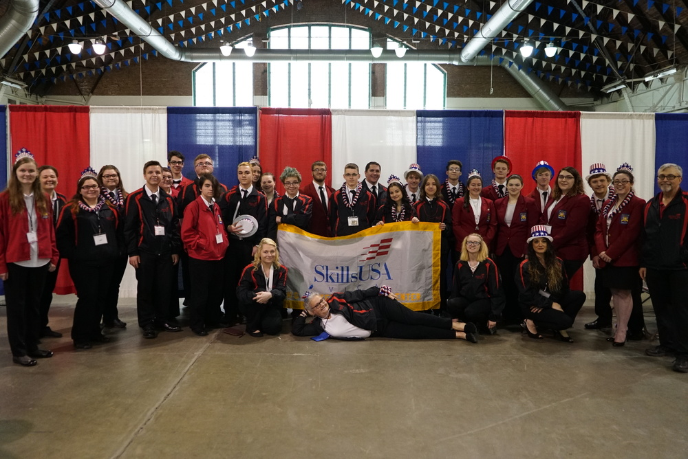 Sackett Center Students Medal Winners in State SkillsUSA Competition