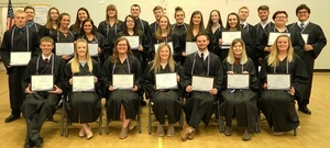 Bohlen Tech. Students Inducted Into National Technical Honor Society