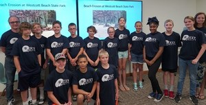 Jefferson County M.A.S.T. Campers Combat Invasive Species & Beach Erosion