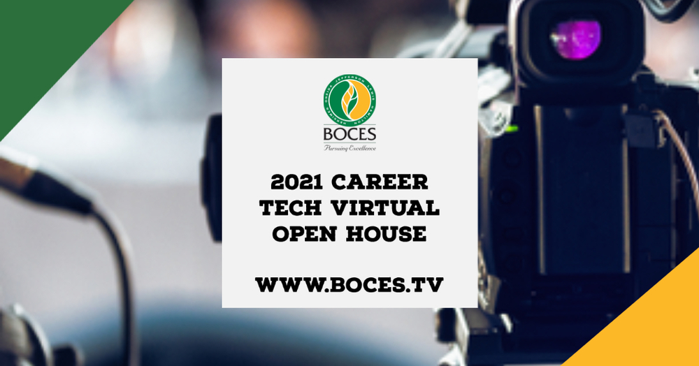 BOCES Hosts Career Tech Virtual Open House