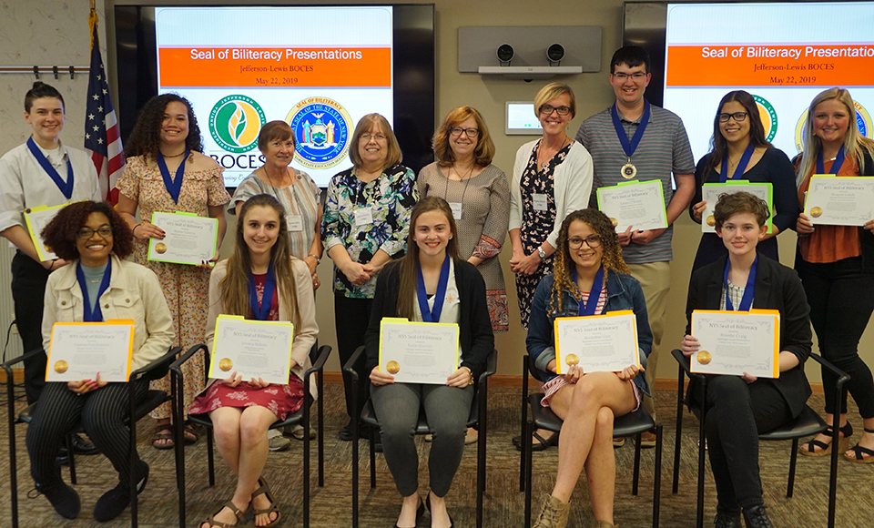 Local High School Seniors Earn Seal of Biliteracy