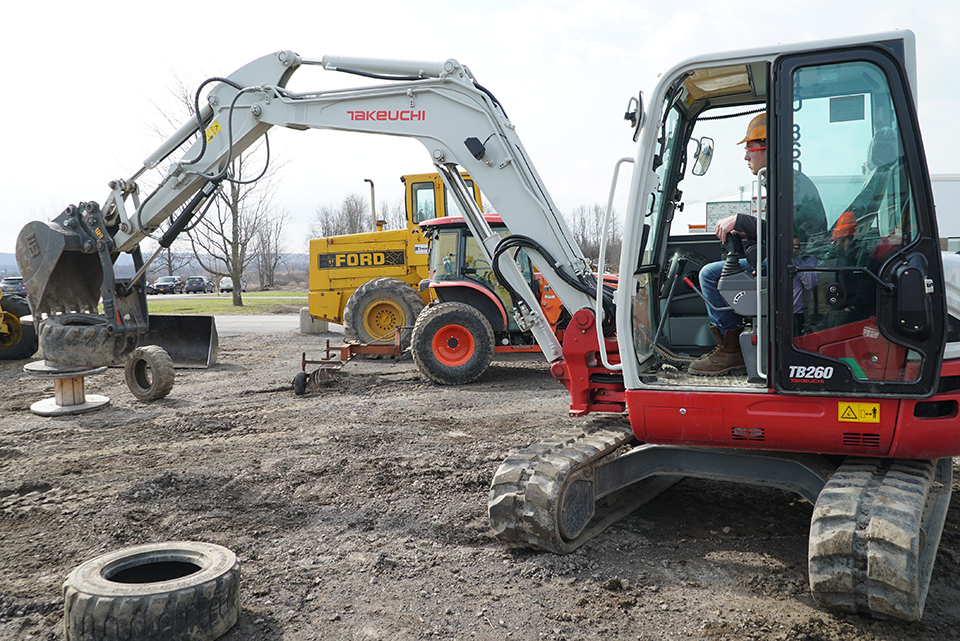 BOCES Students Winners at Heavy Equipment Rodeo