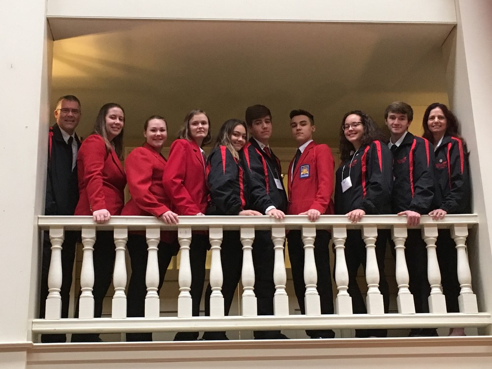 SkillsUSA Students Attend Leadership Conference