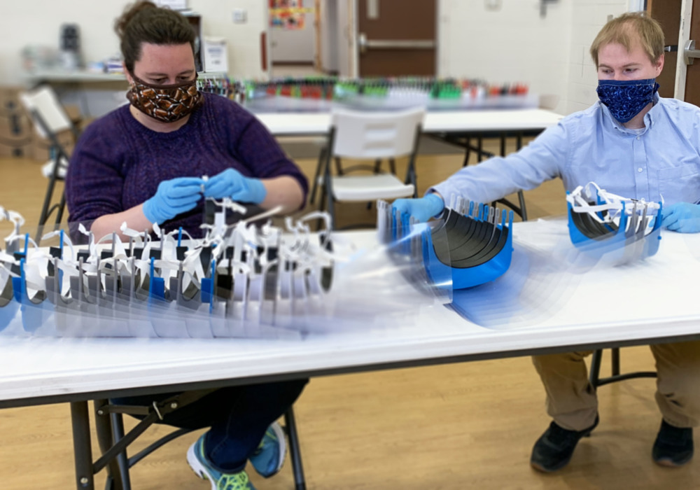 Local Schools, BOCES Help Manufacture Protective Equipment for Medical Community
