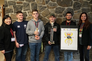 BOCES Students Win Spaghetti Bridge Contest