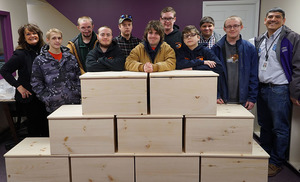 WPBS Community Chests Built by BOCES Students