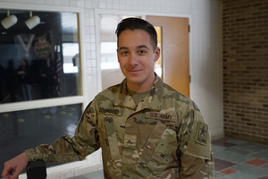 CTE Grad Completes Army Training