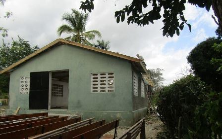 Haitian Church with new roof